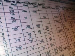 Финансовая таблица
